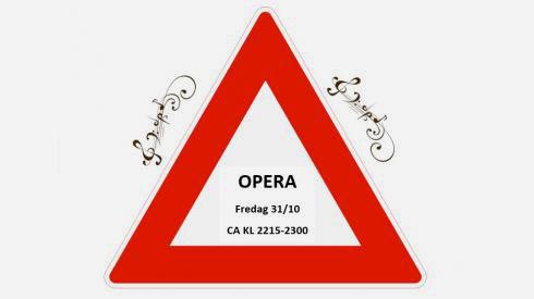 Advarsel! Operasangerne kommer på Corner'n Operapub!
