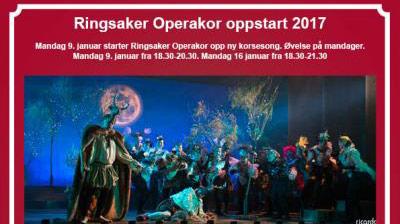 Oppstart Ringsaker Operakor 2017